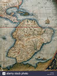 Central And South America Map by Map Of Central And South America Theatrum Orbis Terrarum By