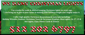 Outdoor Christmas Decorations Installers by Christmas Light Installation Austin U2013 512 202 6797 Christmas