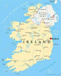 St Joseph River Map Dublin Map Maps Dublin Irland