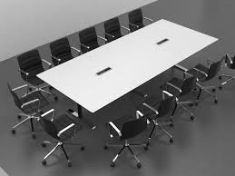 Large White Meeting Table Quadro Conference Table Meeting Room Tables From Cube Design