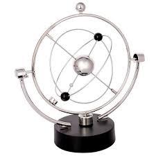 gadget bureau mouvement perpétuel bureau orbitale rotatif décor 1 pcs jouet