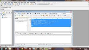 tutorial oracle stored procedure oracle database more toad interface tutorial rjm programming