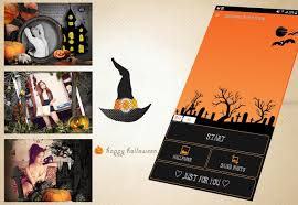 halloween chibi background halloween photo frame android apps on google play