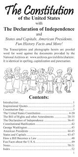 coloring books us pocket constitution