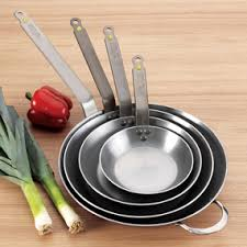 pantry chef cookware de buyer mineral fry pan once it s seasoned you won t miss your