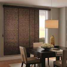 sliding panel woven wood photo gallery blinds com