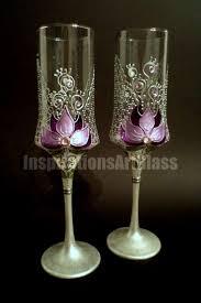 Unique Wine Glasses by 60 Best Wedding Glasses Images On Pinterest Wedding Glasses