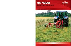 kuhn haybob 300 360 tedder rake combination agricultural catalog