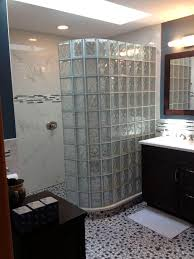glass block bathroom ideas enjoyable glass block wall bathroom ideas contemporary shower
