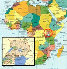 Map Of Uganda Africa History Of Uganda Post 1962 Independence Make Me