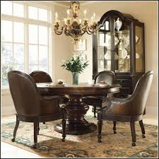Leather Swivel Dining Chairs Swivel Dining Chairs With Casters Chair Home Furniture Ideas