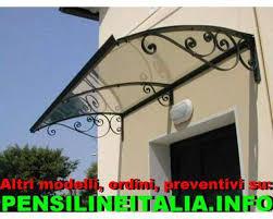 pensilina tettoia in policarbonato plexiglass pensilina tettoia in plexiglas policarbonato annunci roma