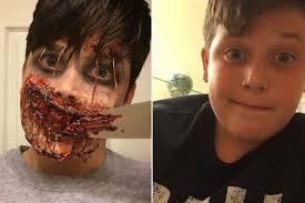 halloween gore background these teens are creating hollywood level gore video new york post