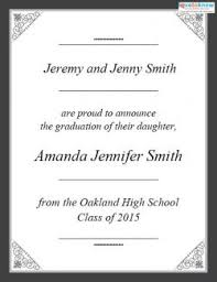 college graduation announcement template free printable graduation announcements lovetoknow