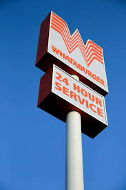 wades through flood to deliver whataburger to