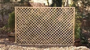 garden with lattice fences and climbing plants u2013 outdoor lattice