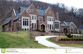 large luxury homes brick luxury home 43 stock photo image of contemporary 12715858