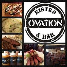 r ovation cuisine fully loaded burger picture of ovation bistro and bar