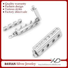 bracelet necklace clasps images Xd s965 925 sterling silver multi strand necklace clasps 4 strand jpg