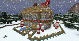 Christmas House by Christmas Buildings Minecraft Project