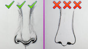do u0027s and dont u0027s how to draw more realistic noses for beginners
