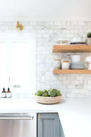 7 Black And White Kitchen by White Subway Tile Backsplash Ideas Black And White Subway Tile