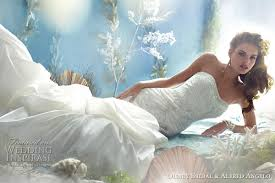 mermaid wedding dresses 2011 disney fairy tale weddings by alfred angelo princess wedding