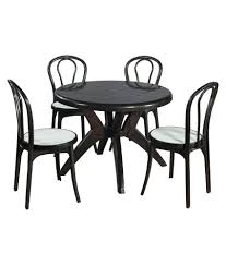 plastic round table and chairs supreme set of 4pearl cane without arm chair 1marina round dining