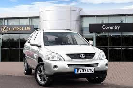 lexus rx 350 used uk used lexus rx 2007 for sale motors co uk