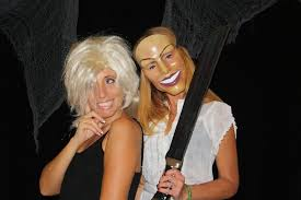 theresa caputo hair cut theresa caputo and diane young at a halloween party run dmt