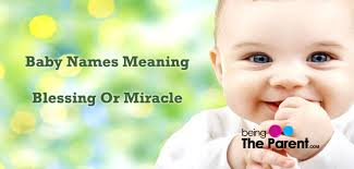 blessing baby 50 beautiful baby names that blessing or miracle being