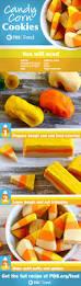 candy corn cookies recipe fresh tastes blog pbs food