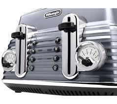 Toaster And Kettle Set Delonghi Buy Delonghi Ctz4003gy Scultura Delonghi Toaster Gun Metal