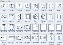dessin evier cuisine symboles pour plan de construction cuisine et salle de bains