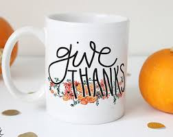 thanksgiving mug etsy