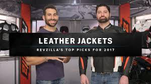 best moto jacket best leather motorcycle jackets 2017 at revzilla com youtube