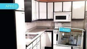 recouvrir meuble de cuisine recouvrir meuble cuisine adhesif avant apras cuisines relookaces