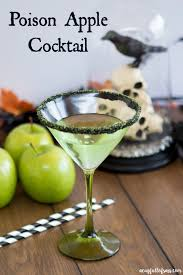 green apple martini poison apple cocktail a cup full of sass