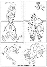 100 ideas ben 10 coloring pages emergingartspdx