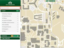 Map Of Current Location Unc Charlotte Campus Map Help