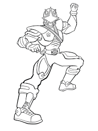printable power rangers coloring pages kids print dover