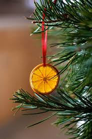 diy decorations orange ornaments
