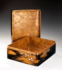 Antique Writing Paper Japanese Lacquered Writing Box Richard Gardner Antiques