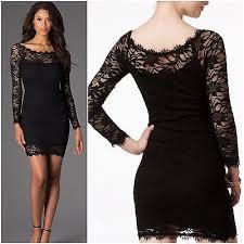 jump apparel black lace long sleeve sheath party dress sz juniors