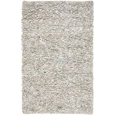 Area Rugs Greensboro Nc Safavieh Leather Shag White 8 Ft X 10 Ft Area Rug Lsg511c 8