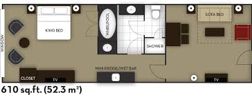 Hotel Suite Floor Plans Embassy Suites By Hilton Niagara Falls Fallsview Hotel Canada