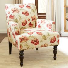 liliana red floral armchair pier 1 imports