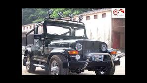 mahindra thar crde 4x4 ac modified mahindra thar suv off roader suv in india