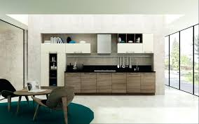 white waterfall benchtop wth reclaimed timber under inspirational