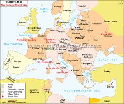 europe world map ww2 map of europe map of europe during ww2